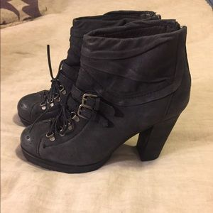 Apepazza leather black boot from Free People